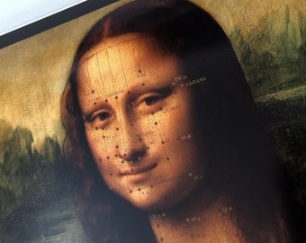 Mona Lisa Acupuncture Chart