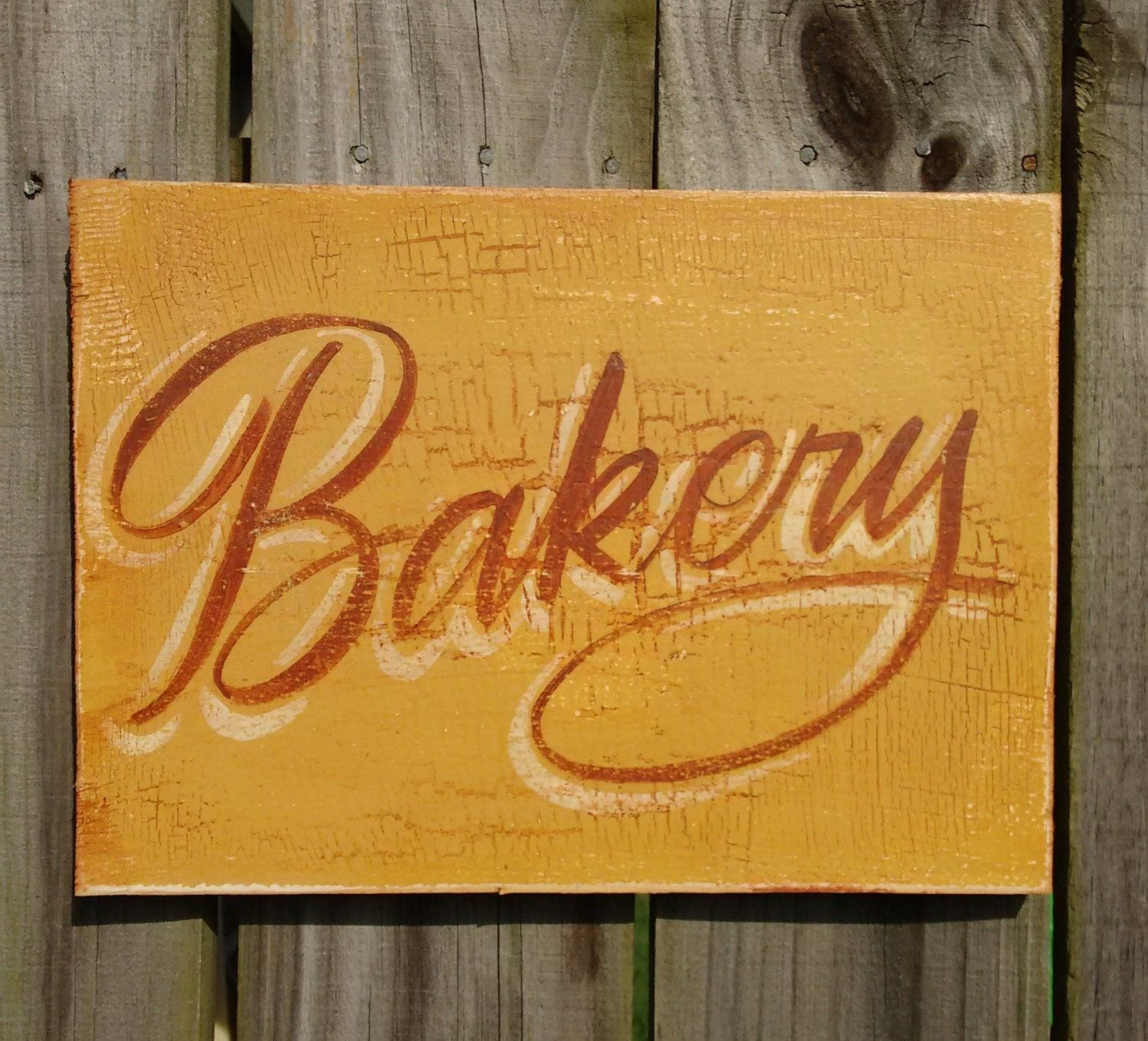 Bakery Sign Rustic Kitchen Sign Country Kitchen Sign