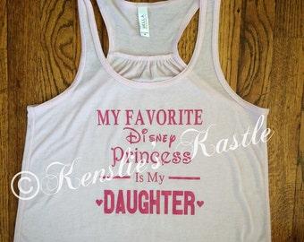 My Favorite Disney Princess Tank
