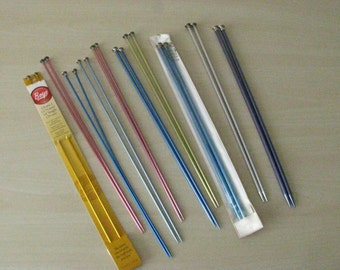 Knitting Needles Set - Metal - Assorted Sizes