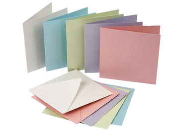 Pearlescent Cards & Envelopes x 10