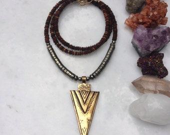 Boho Spike Necklace