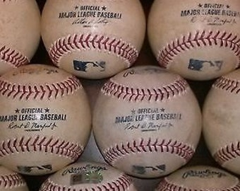 OFFICIAL MAJOR LEAGUE game used baseball