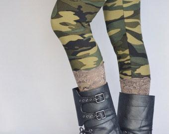 Camo leggings, Leggings, Long leggings