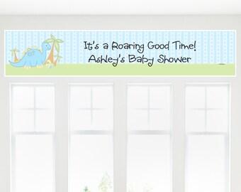 Baby Boy Dinosaur - Custom Baby Shower Party Decorations