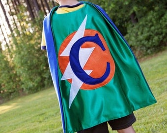 Superhero CAPE . Boy Superhero Cape . Preschool Birthday Gift . Free Mask . Ships Quickly . Custom Super Hero - Superhero Photo Session