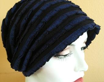 Womens chemo hats . stylish soft hats