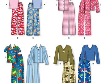 Simplicity Sewing Pattern 1043 Child's and Boys' and Girls' Pants, Shirt and Knit Top and Tank Top