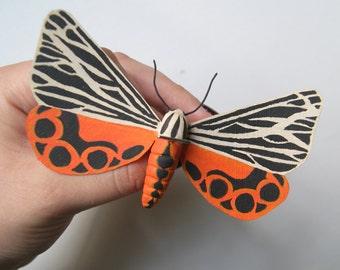 Tiger Moth Sculpture