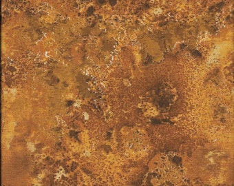 108'' Wilmington Prints Orange/Gold/Rust Cosmos Wide Backing by the Yard 31489-229