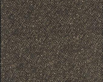 45'' Maywood Studios Brown Tweed Woolies Flannel MASF 18507-A by the Yard