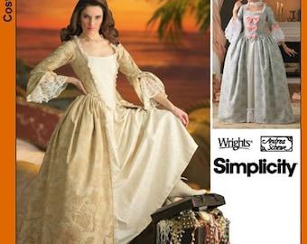 Simplicity Pattern 4092 18th Century Costume