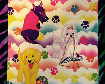 Lisa frank book cover