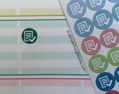 To Grade, Test, Quiz, V.1 {Teacher Lesson Planner Stickers #106}