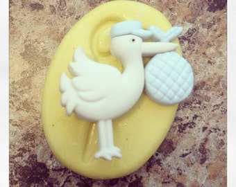 Baby Stork Mold Silicone