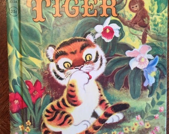 Timothy Tiger by Marjorie Barrows; 1959; Rand McNally Book