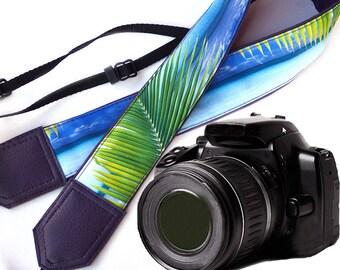 Purple camera strap. DSLR Camera Strap. Sea Camera Strap. Beach camera strap. Camera accessories. Photographer gift.