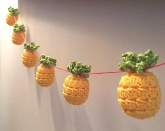 Kitsch Crochet Pineapple Bunting / Pineapple Garland