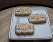 Monogram cookies - One Dozen