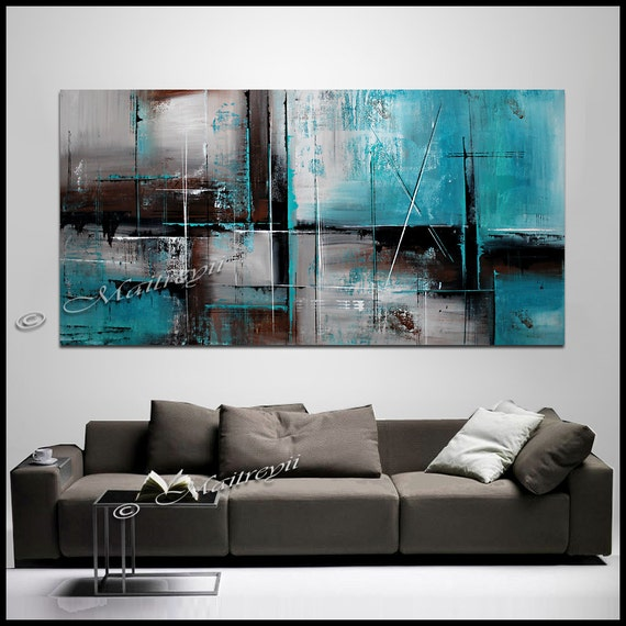 Teal Wall Art Teal Home Decor Aqua Teal Turquoise