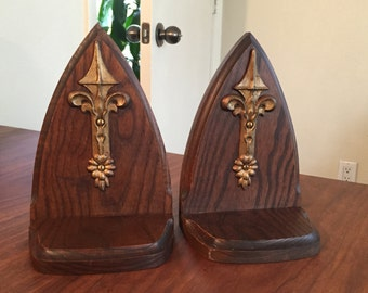 Vintage French Bookends
