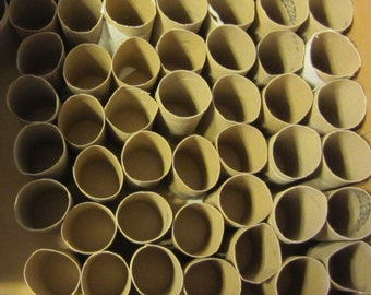 80 Empty Toilet Paper rolls cardboard tubes toilet paper tubes