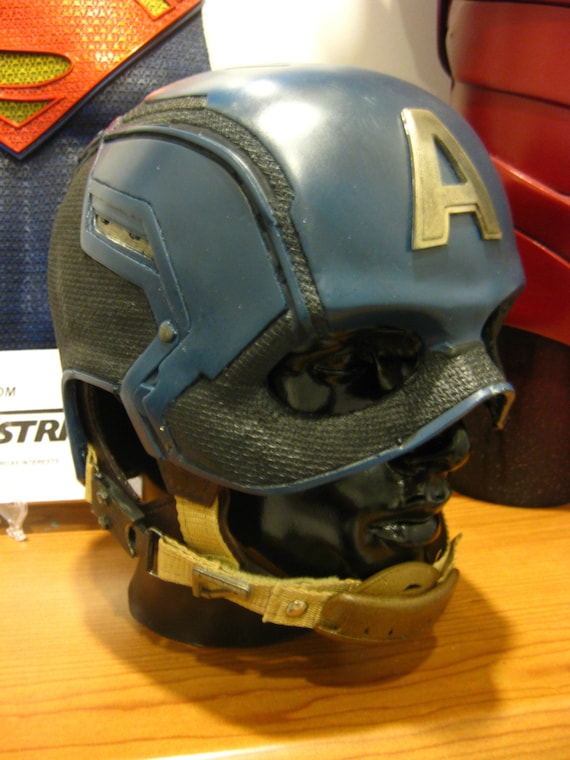 Captain america helmet kit like this item pronofoot35fo Image collections