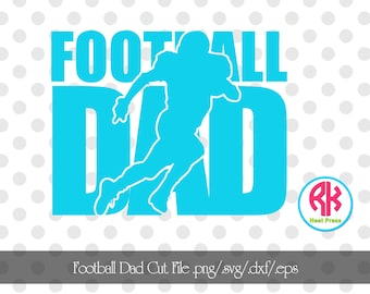 Football DAD Cut Files .png/.eps/.svg/.dxf