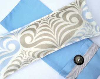 Snuggle Soft Flax Eye Pillow with Washable Flax Sack Cover, you choose aromatherapy scent!