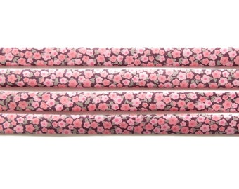 Liberty fabric bias binding 1x Yard of Penny - C - 10mm, Liberty fabric UK, bracelet making and sewing supplies for crafters