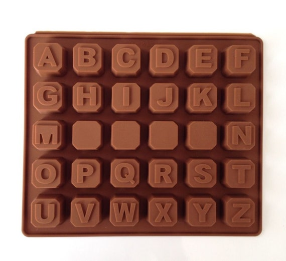 New alphabet blocks cake chocolate silicone mold cupcake for Alphabet blocks cake decoration