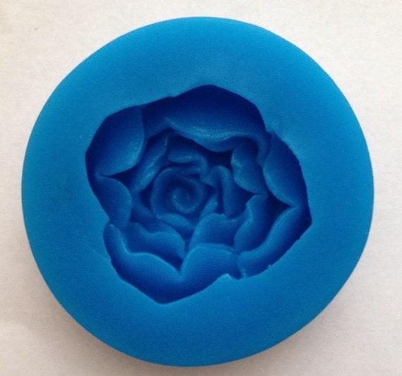 Rose petals soft silicone mold fondant mat cake decorating cupcake