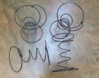 Antique Coil Springs Salvaged Chair Coil Springs