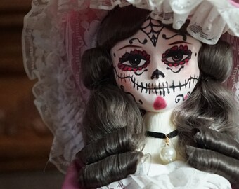 Maria - Dia de los Muertos OOAK Horror Doll