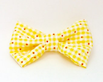 Vintage Fabric Bow #17- Made to Order!