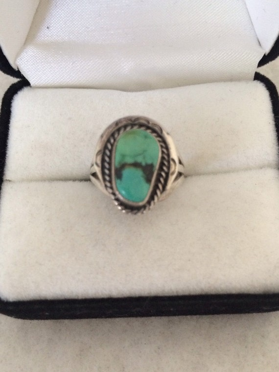 Ramona Sterling Silver Turquoise Ring