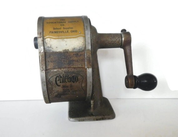 Vintage Automatic Pencil Sharpener No 2 Chicago Il
