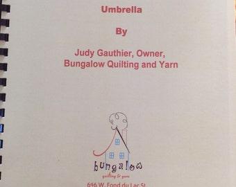Umbrella pattern booklet
