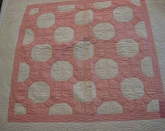 Crib Quilt Antique dated 1928