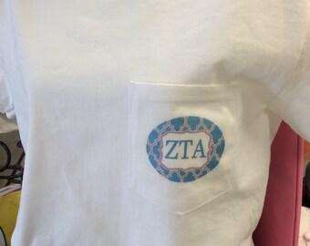 Zeta Tau Alpha Digital Tee