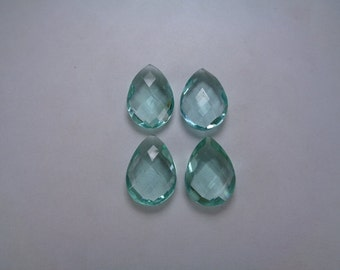 Loose Aquamarine, 13*18mm Teardrop Briolette Beads