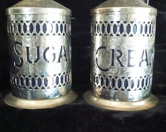 Sugar and Creamer Set