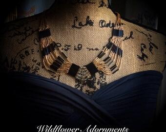 Formal Elegance Art Nouveau Necklace