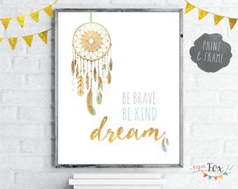 Dreamcatcher Wall Art dreamcatcher art | etsy