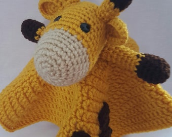 Giraffe Lovie - Crochet - Made to Order