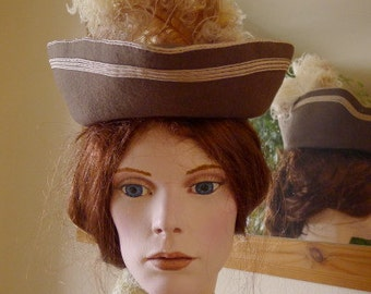 1904 Felt hat for Gibson Girl style