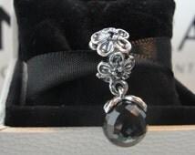 Authentic Pandora Garden Odyssey Charm/ Black spinal/ New Charm/ includes Pandora Hinged box