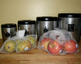 Simple, Reusable Produce Bags