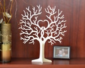 Baby Shower Decorations Wishing Tree Baptism Gift Favors Birthday Party Decor Guest book Wedding thanks tags Wooden tree wishing tree