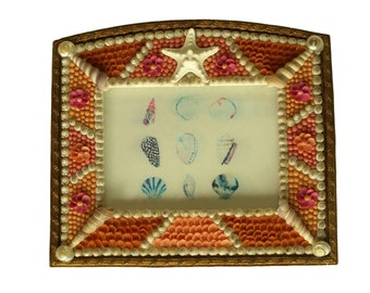 Shell Frame with Vintage Seashells